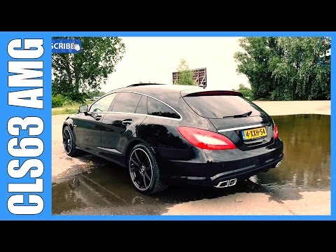 Mercedes Benz CLS 63 AMG Shooting Brake Review | Brute in a Suit (English Subtitles)