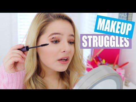 Makeup Struggles
