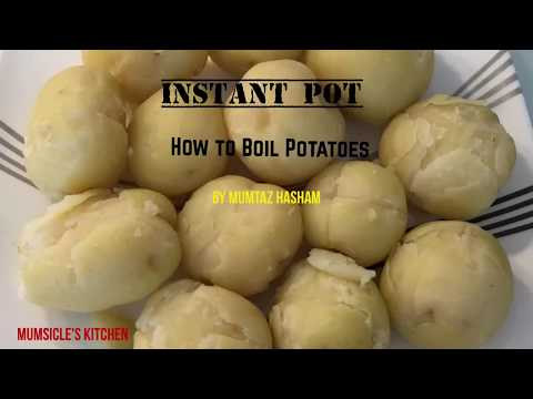 INSTANT POT- How to boil potatoes easy way | Mumtaz Hasham