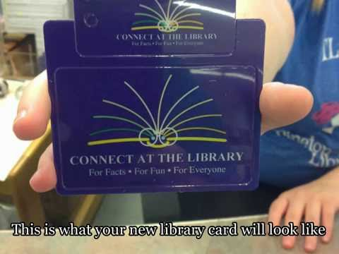 How to Get a Library Card @ Pinetop-Lakeside Public Library