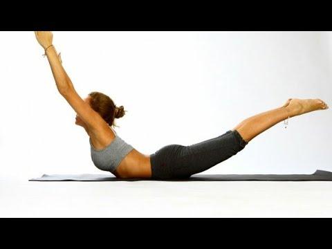 Shalabhasana (Locust Post) Part 2 for Back Pain Slip disc Sciatica
