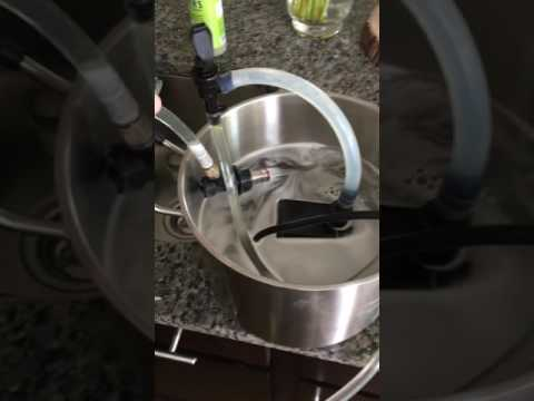 Clean a picnic tap the easy way