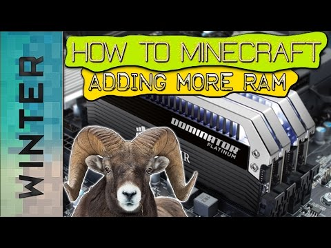 How to add more Ram to Minecraft - How to add more ram with NO MORE LAG!