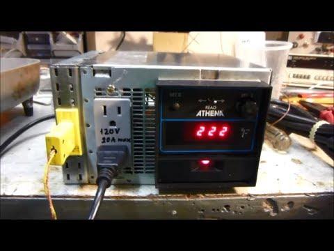 Homemade Temperature Controller Unit