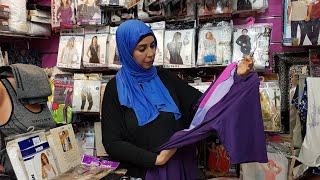 جولة في محل💕حليمة وهاجر💕بيجامات ابتداءا من 30 dh،بوركينيو ،ملابس داخلية للنساء  بأقل الأتمان😱