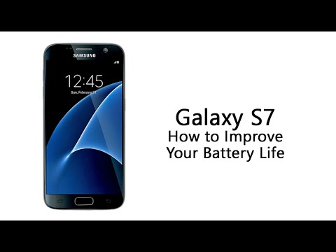 How to Improve the Battery Life on the Galaxy S7