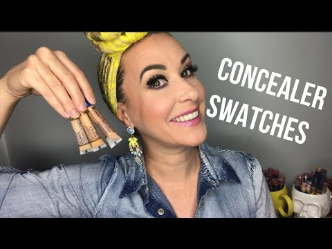 Concealer Swatches and Tattoo Cover UP!!!!
