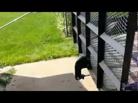 Hydraulic trailer ramp