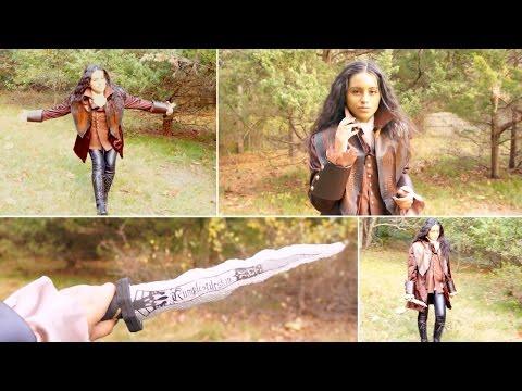 Spook Book⎟DIY Rumplestiltskin Costume, Dagger, & More!