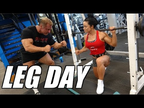 Get Huge Legs with this killer workout featuring IFBB Pro Ivana Ivusic