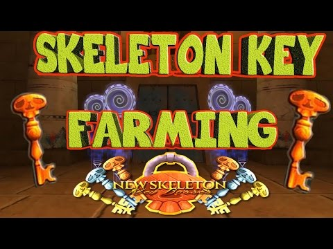 Wizard101 Skeleton Key Farming! Stone Keys, Wooden Keys, Gold Keys, & Where to Farm them!