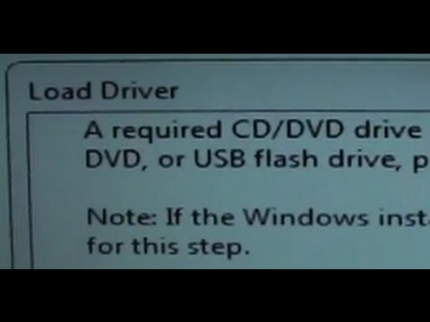 Fixed: A Required CD/DVD Drive Device Driver is Missing for Windows 7 Installation