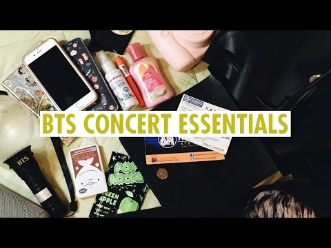 What to bring to a BTS concert