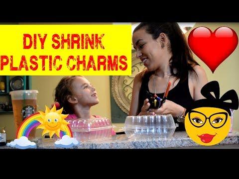 DIY Shrinky Dinks | DIY Shrink Plastic Charms