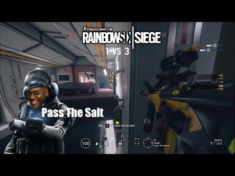 Rainbow Six Siege | IQ Pass The Salt