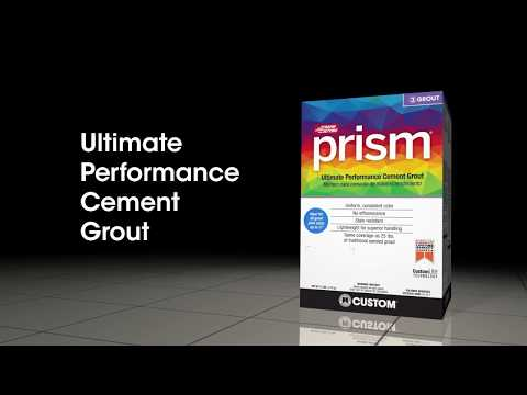 Prism® Ultimate Performance Cement Grout - the Versatile Go To Grout