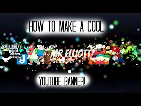 How To Make A Cool Youtube Banner Using Picmonkey