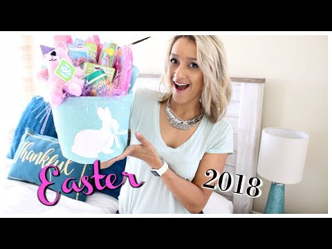 WALMART DIY EASTER BASKET HAUL 2018