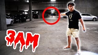 Do Not Explore Haunted Parking Garage at 3AM (Ghost)