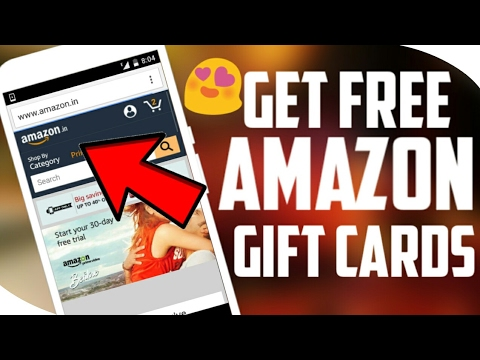 How to get free amazon gift cards India || Hindi Get 5$/300₹ Gift Card From Amazon Easily