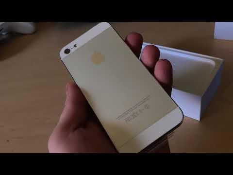 iPhone 5 iOS 6 64Gb Unboxing 2018