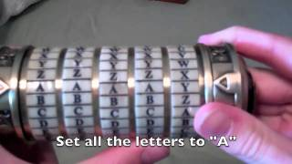 Breaking In The Cryptex