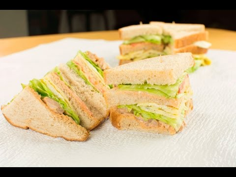 Bread Recipes: How To Make Easy club sandwich Recipe | Afropotluck