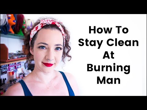 How to Stay Clean (Showering/Washing) at Burning Man