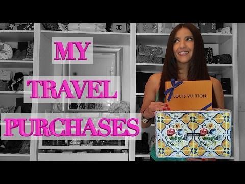 Designer Travel Haul - Louis Vuitton, Gucci, Dolce & Gabbana, Guerlain