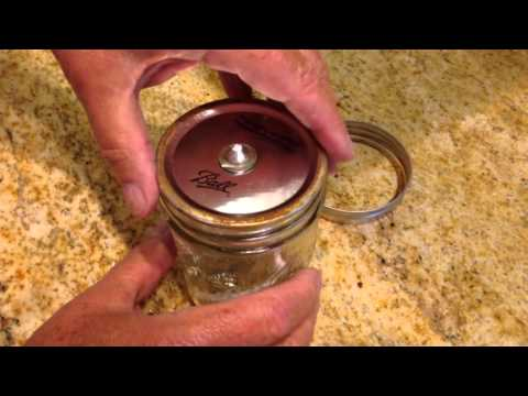 DIY - How To Make a Mason Jar Oil Lamp
