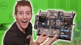 Alienware's CRAZY upgradeable laptop