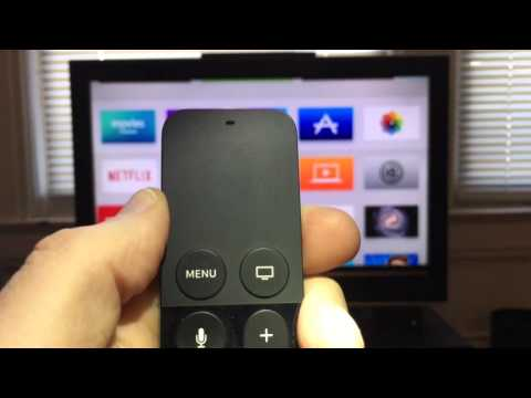 How to Navigate Apple TV with Siri Remote Taps