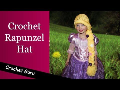 Crochet Rapunzel Hat Pattern - Crochet Hat Pattern