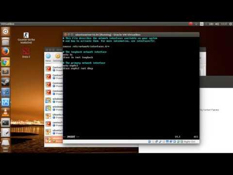Virtualbox problem - Host only network not work on Ubuntu server 16.04