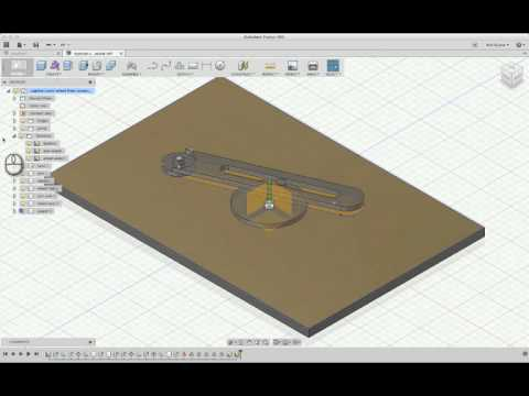 Fusion 360: Followup to Positive Drive Crank System
