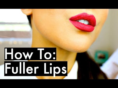 How To Make Your Lips Look Bigger | Bold Red Lip Makeup Tutorial | KatesBeautyStation