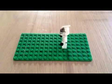 Tuto / stop Motion / comment faire un minigun pour minifigure lego
