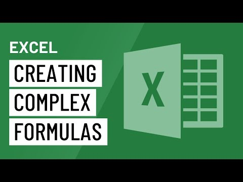 Excel 2016: Creating More Complex Formulas