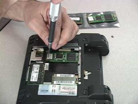 How to Install Memory and SSD in Asus Eee PC Netbook (Video)