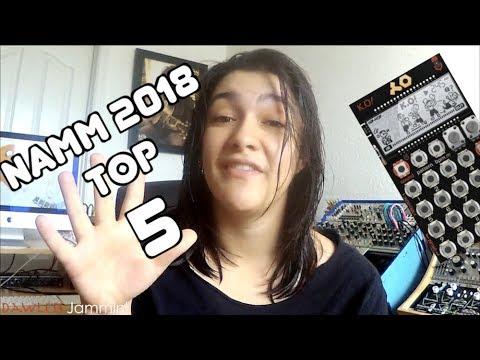 NAMM 2018 - My TOP 5