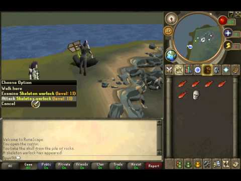 Runescape Quest Guide: The Restless Ghost