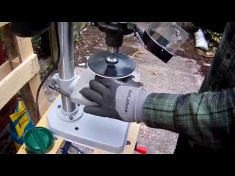 Grinding Cut Glass Bottles Smooth