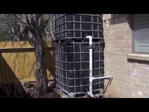 How I Flush My Toilets Using Rainwater