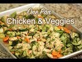 One Pan Chicken and Vegetables | Easy Homemade Recipe | Rockin Robin Cooks recipes