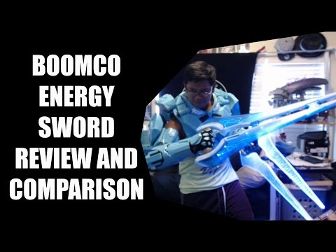 Mattel Boomco Energy Sword Review and Comparison