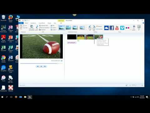 Movie Maker: Adding Titles and captions