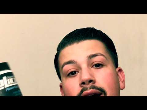 Gel Review: Combover Hairstyle Tutorial