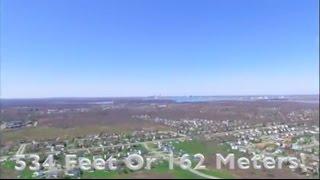 Flying Drone At 534 Feet!(162 Meters)