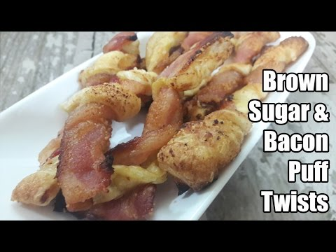 Brown Sugar and Bacon Puff Twists Recipe | Episode 352