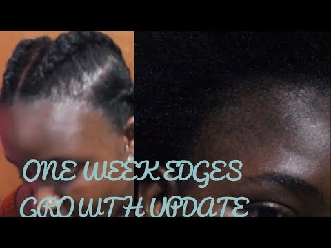 Shaved Off Edges To Grow Them Back Thicker: Week 1 Update